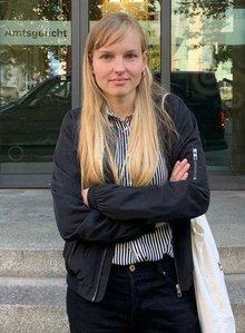 Juana Zimmermann  – ver.di-Aktive und Sprecherin des Bündnisses #noNPOG